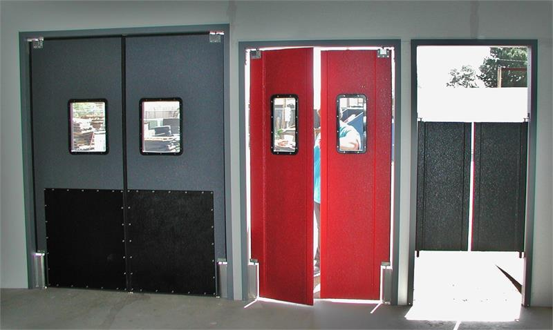 We Have A Full Line Of Swinging Traffic Doors