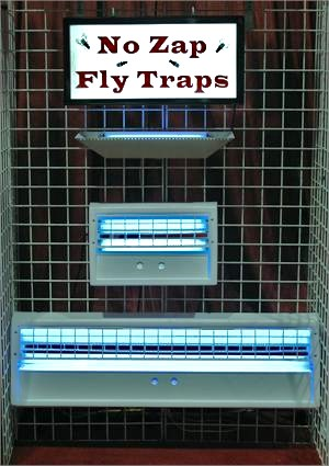 No Zap Fly Traps- Best indoor fly trap for restaurants and grocery store fly traps In Stock.